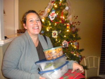 Rachael's Christmas Wreaths & Pecan Tassies
