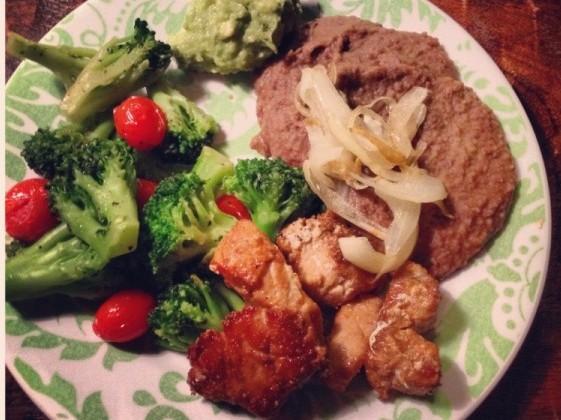 Slow Carb diet week #1 meals