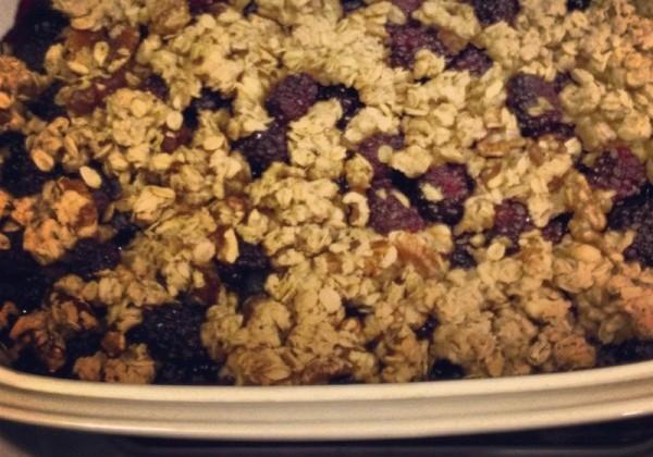 Blueberry Crisp from BREAD & WINE