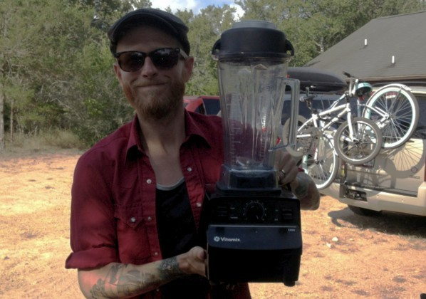 The Vitamix goes on vacation