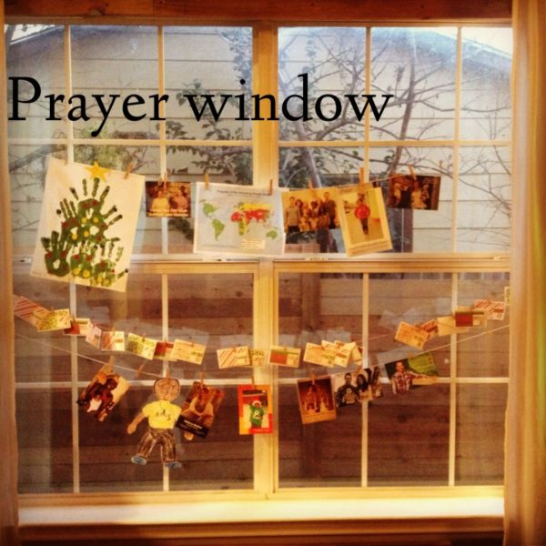 Our Prayer window