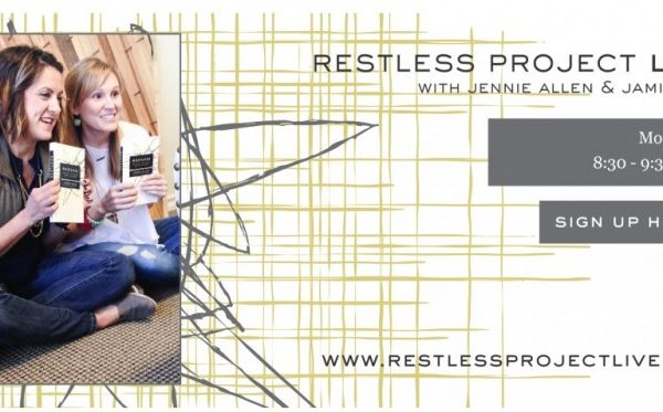 Restless Project:  Weeks 4 & 5