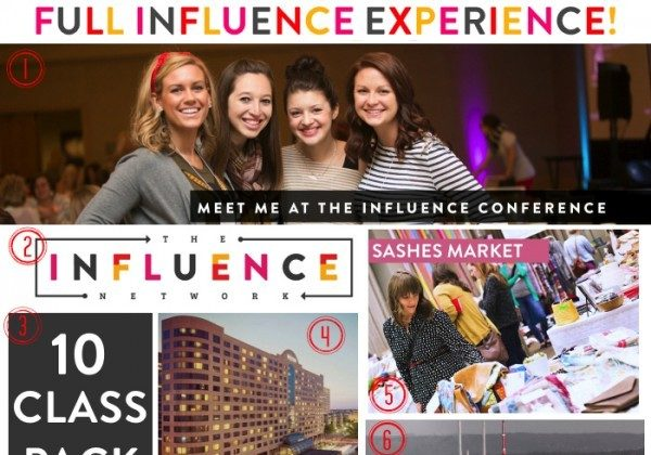 HUGE Influence giveaway