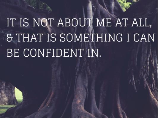 Asking God for confidence
