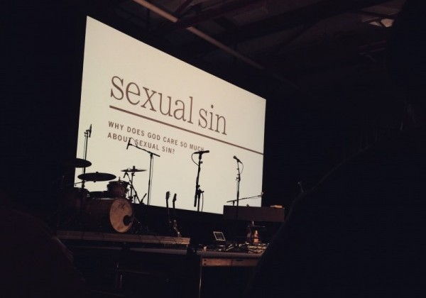 Sexual Sin series at The Austin Stone