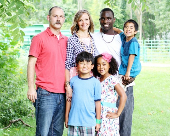 Family Standing