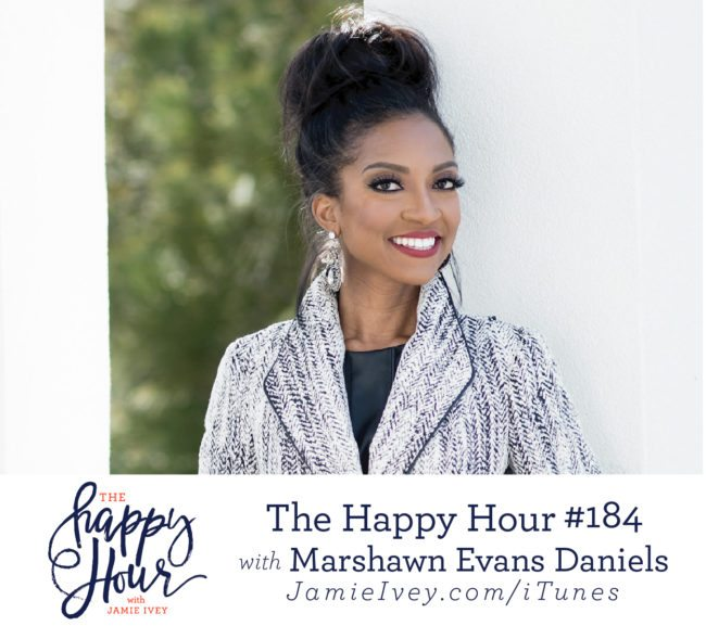 745333d537 My guest for The Happy Hour   184 is Marshawn Evans Daniels. A former  sports attorney