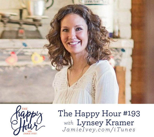 bc5b86a3de My guest for The Happy Hour   193 is Lynsey Kramer. Lynsey is a  photographer turned farmer and lives in Fayetteville