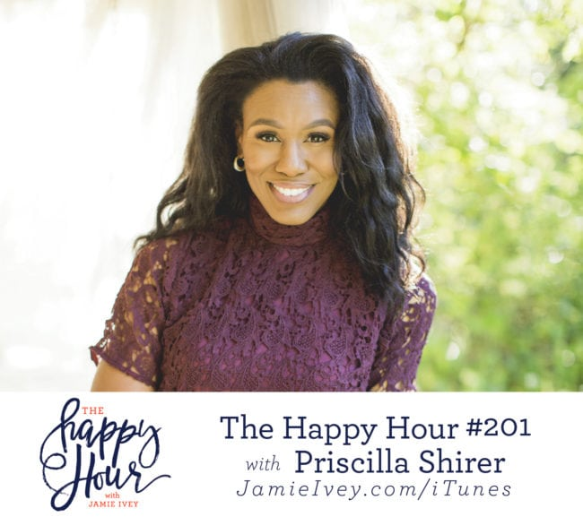 46656d0a6d My guest for The Happy Hour   201 is Priscilla Shirer. Priscilla is a wife