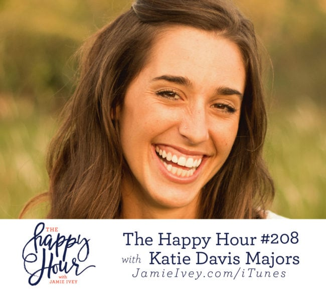 The happy hour with jamie ivey podcast republic my guest for the happy hour 208 is katie davis majors katie is an author speaker blogger and founder of amazima ministries an organization that cares fandeluxe Gallery
