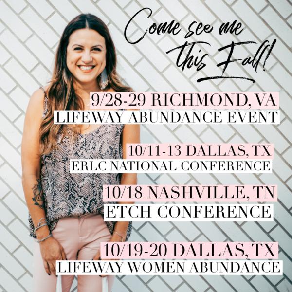Fall 2018 – Come see me!