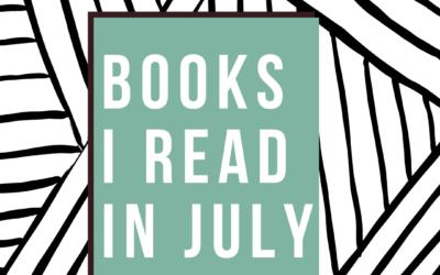 Books I Read – July 2021