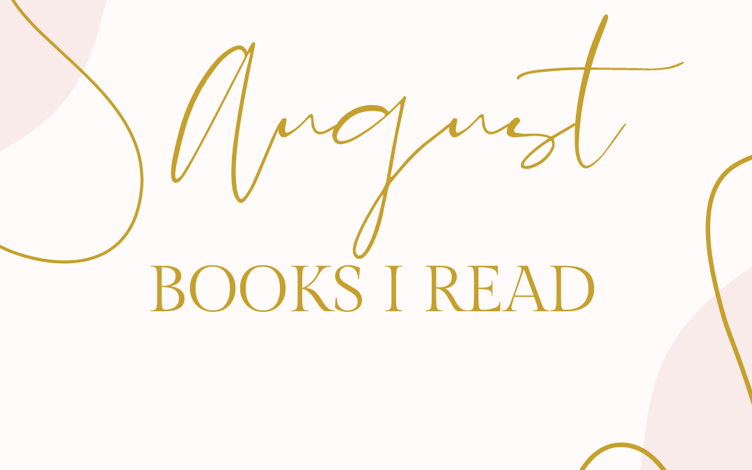 Books I Read – August 2021