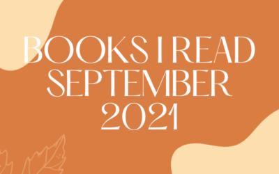 Books I Read – September 2021